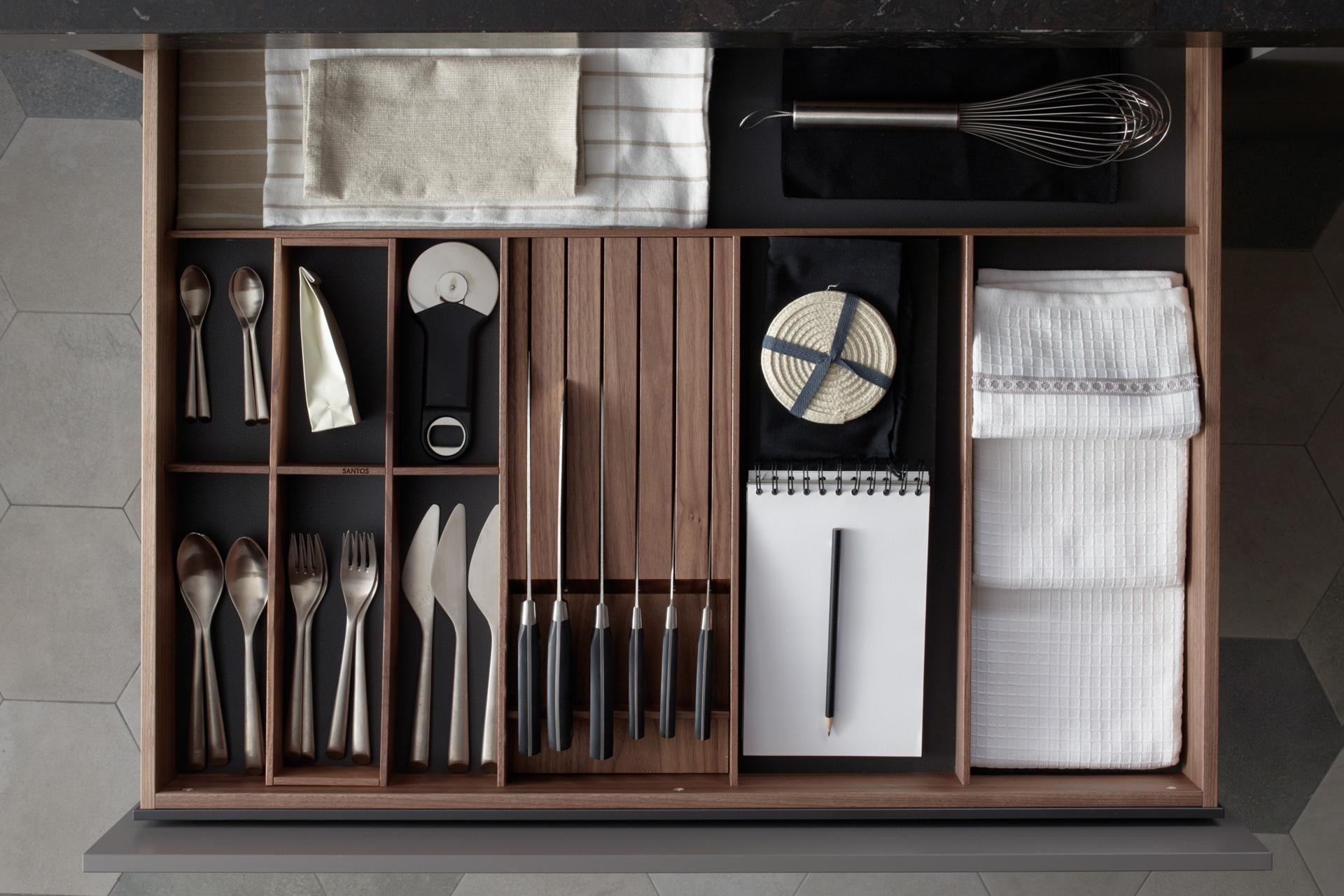 Accesorios y equipamiento cocina Santos