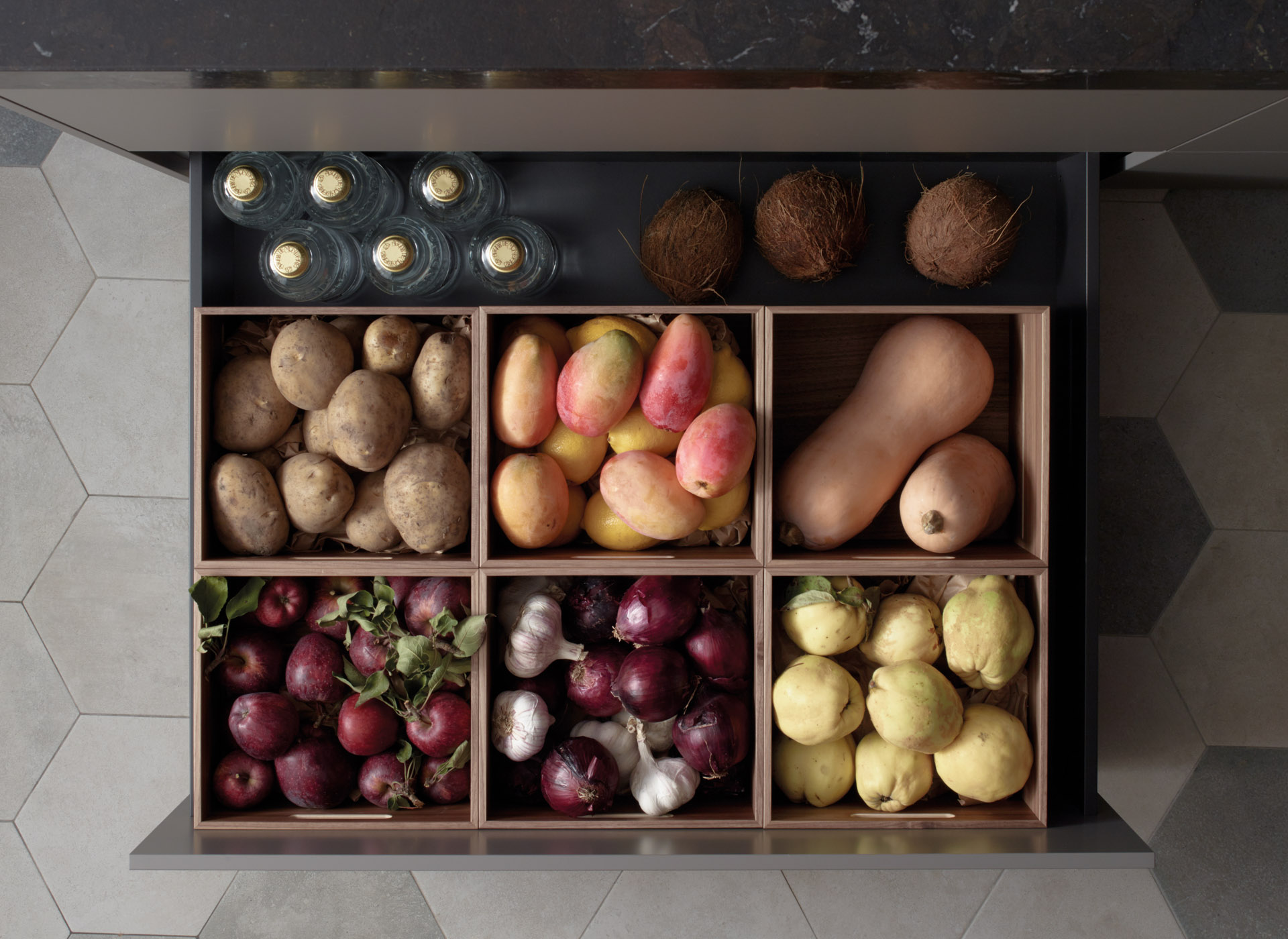Accesorios para almacenar frutas y verduras