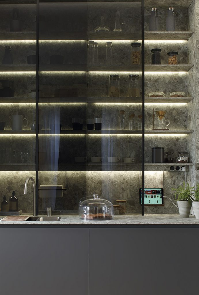 Accesorios para pared de cocinas Santos