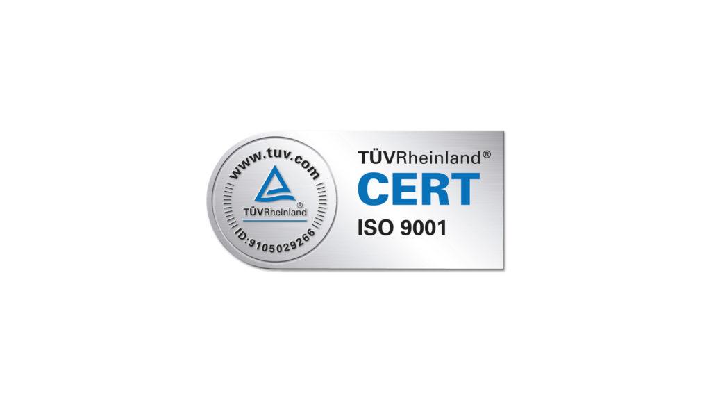Certificación calidad ISO 9001 Santos