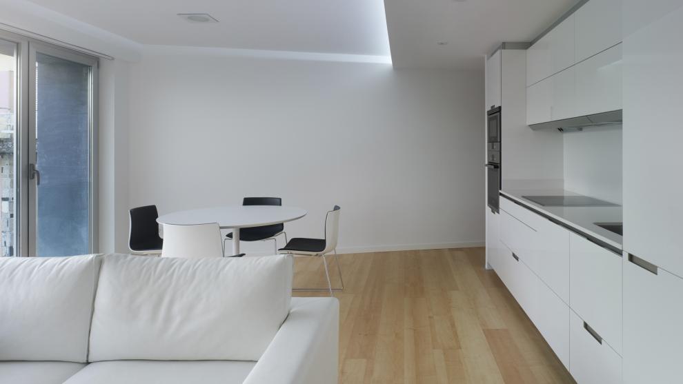 Eetkamer In Woonkamer : Keuken eetkamer en woonkamer in één enkele sfeer santos