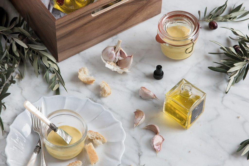 Recette de sauce aïoli dans le calendrier 2019 des cuisines Santos