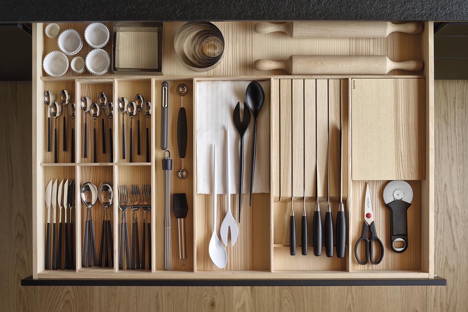 Accessoires de cuisine conçus par Santos