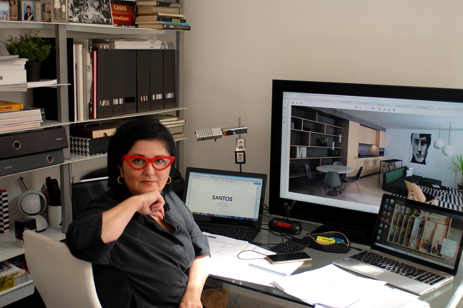 Rosario Martín Pérez, gestora, administradora e designer de interiores da Zona de Día