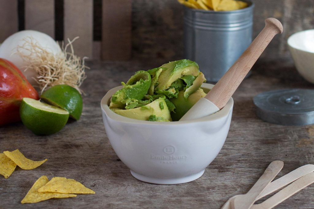 Recipe for guacamole by Santos Kitchens