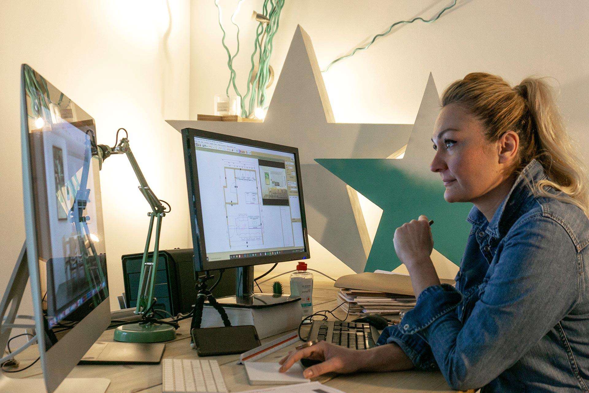 Ainhoa Murcia de la Casa, diseñadora de Jordi Murcia Taller