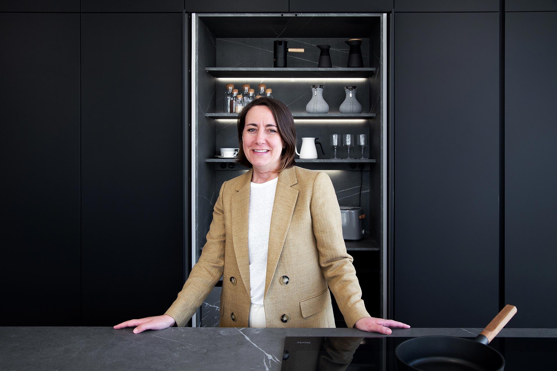 Sonsoles Cabana Murias, manager van Santiago Interiores