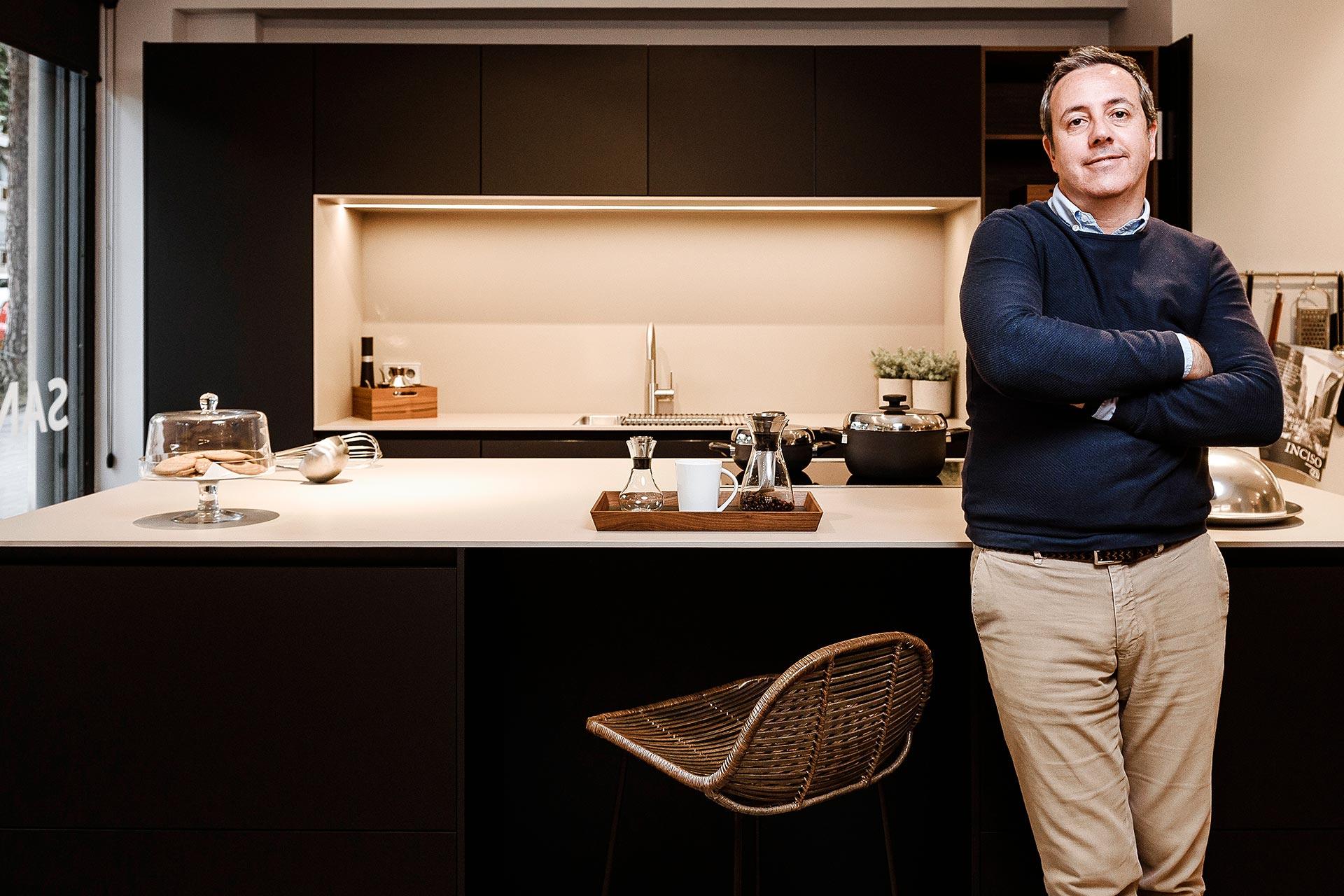 Jordi Soler, partner en commercieel directeur van Traç