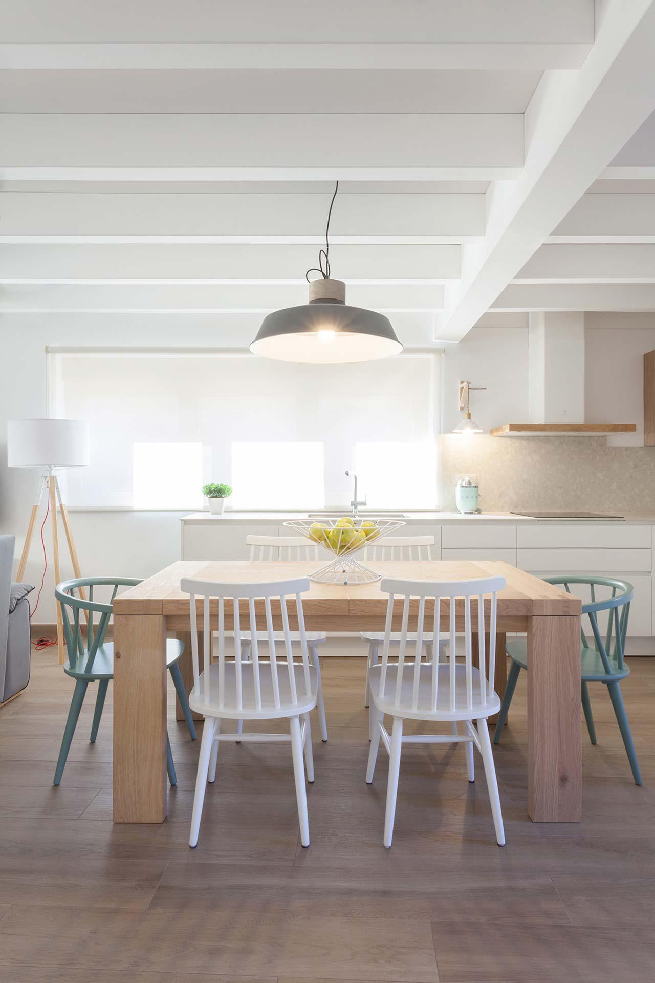Cozinhas Santos em casas remodeladas, por Andrea Muñoz Diseño