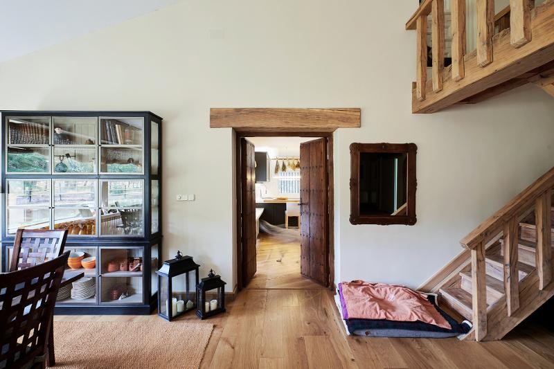 Cozinhas Santos em casas rústicas reabilitadas