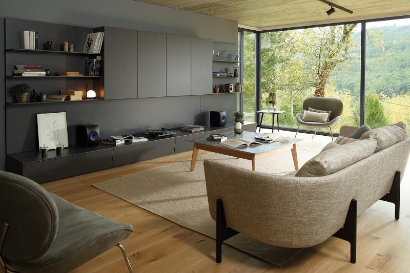 Living: la nueva línea de mobiliario Santos para la zona de día