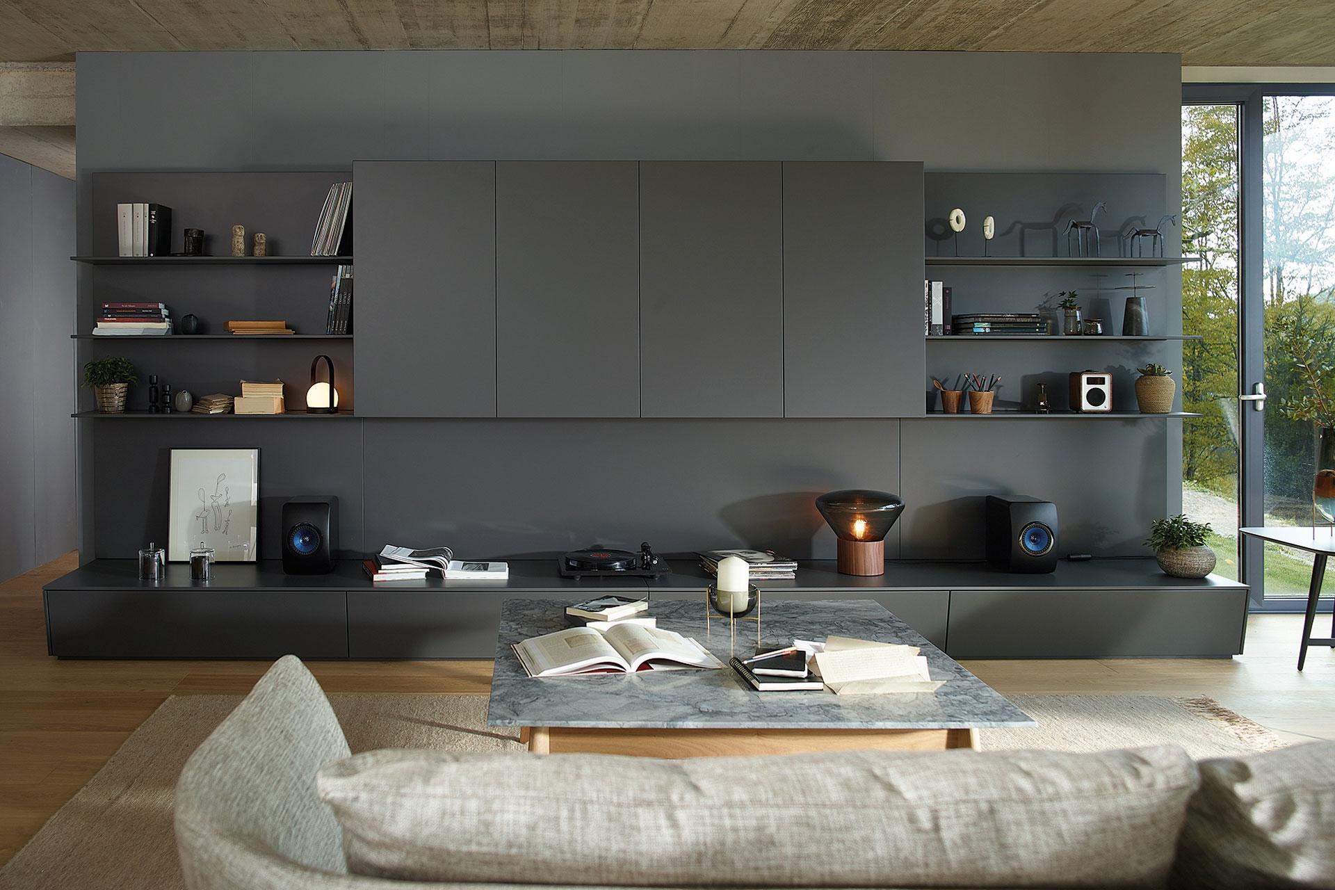 Conoce muebles de salon y cocina integrados y modulares Santos