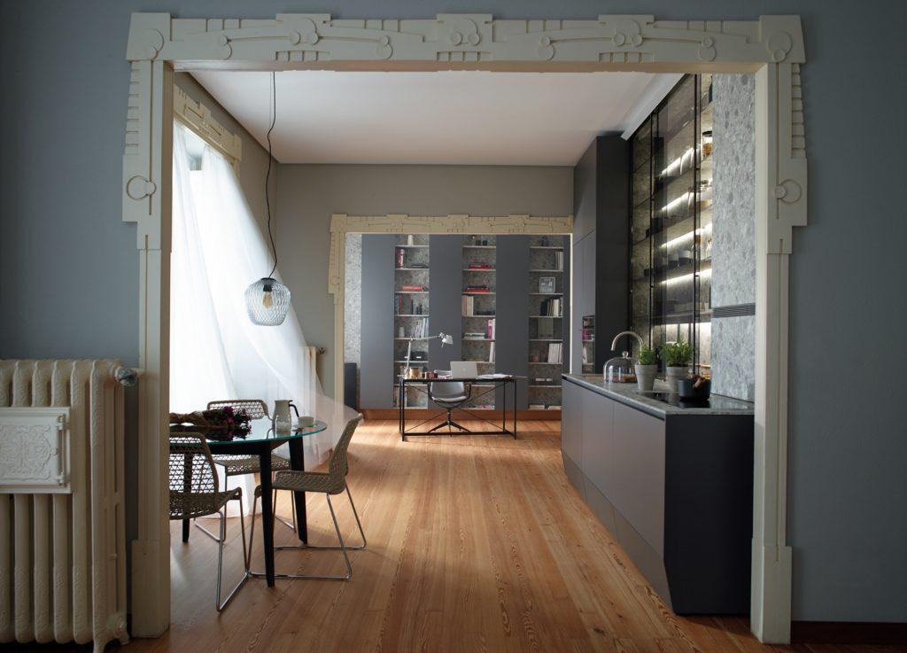 Muebles de cocina de suelo a techo Santos