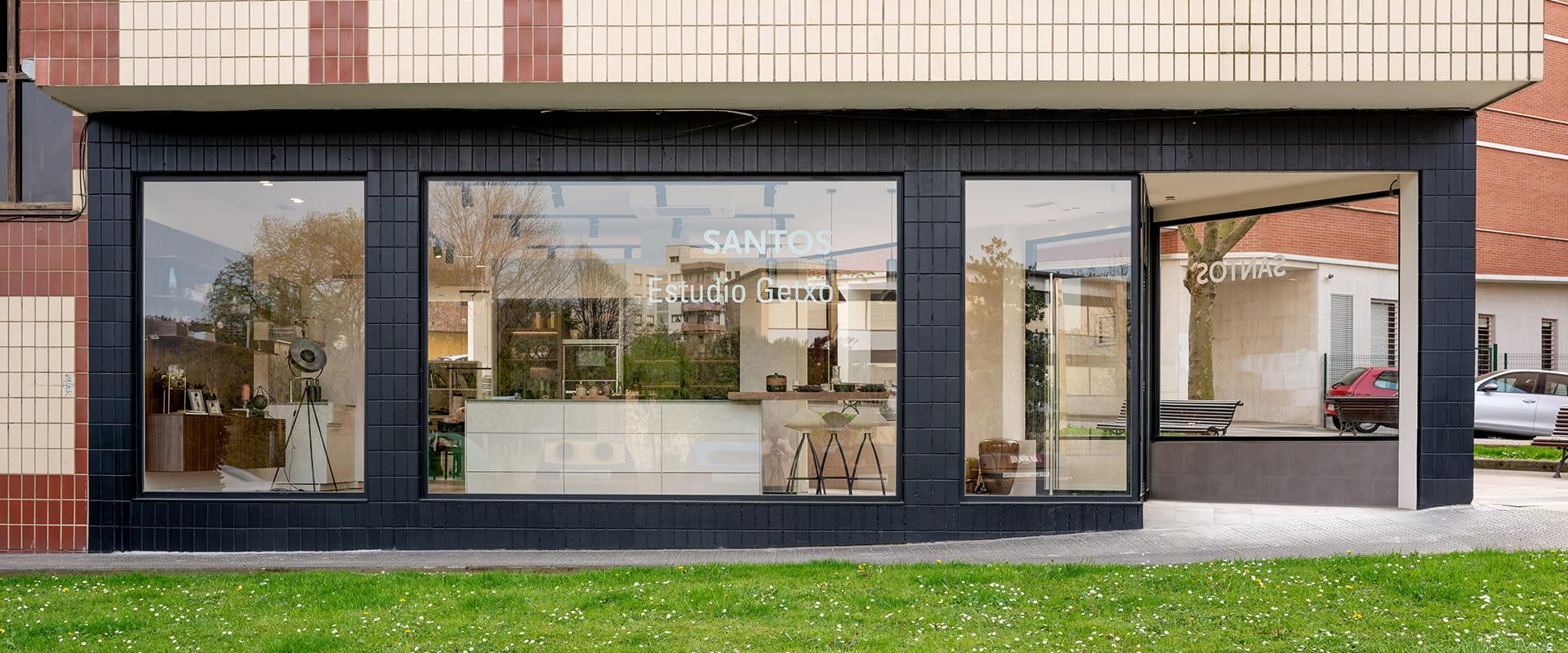 Loja de cozinhas Santos Estudio Getxo em Vizcaya