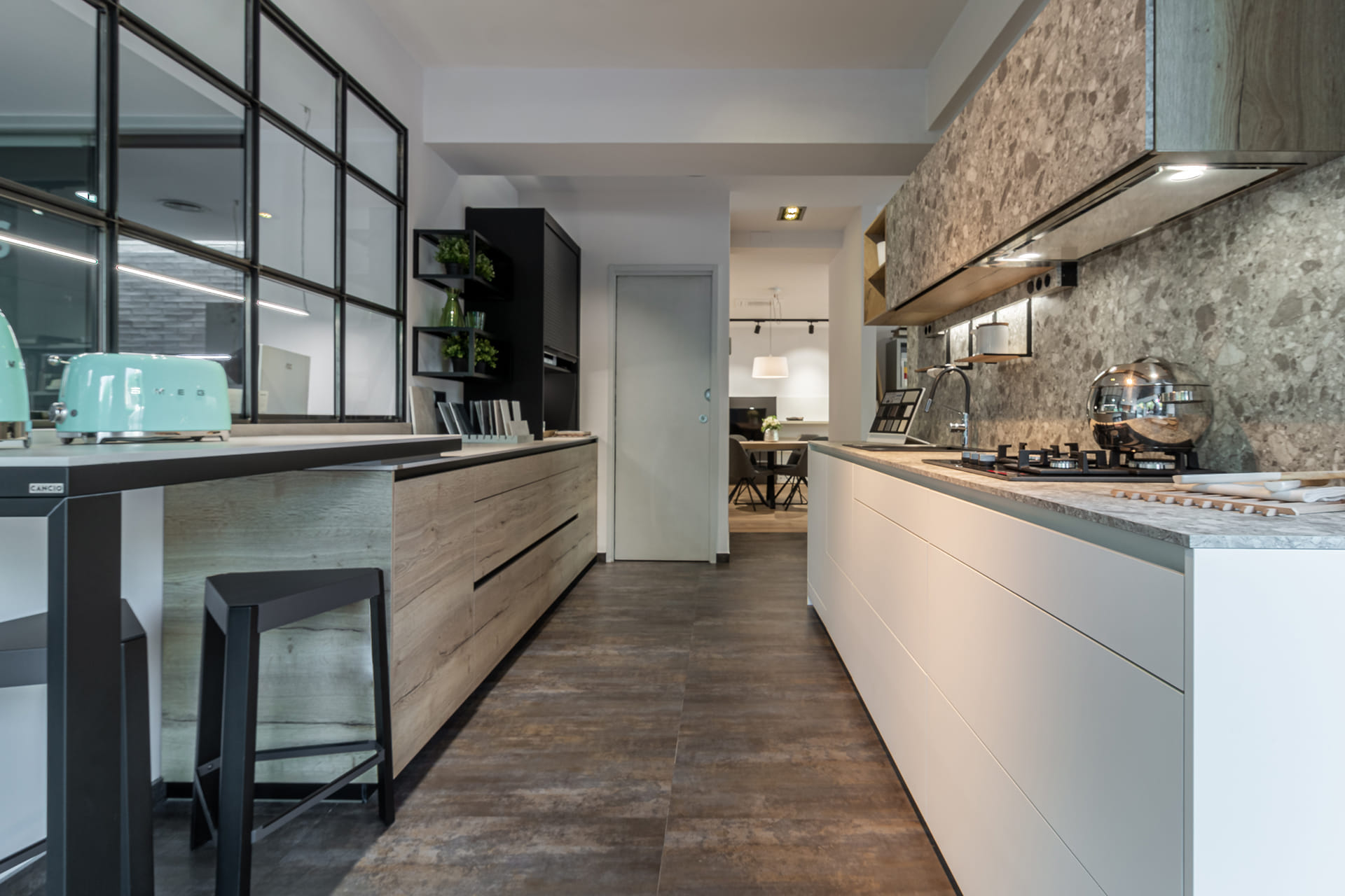 Open Santos keuken in expositie in Barcelona