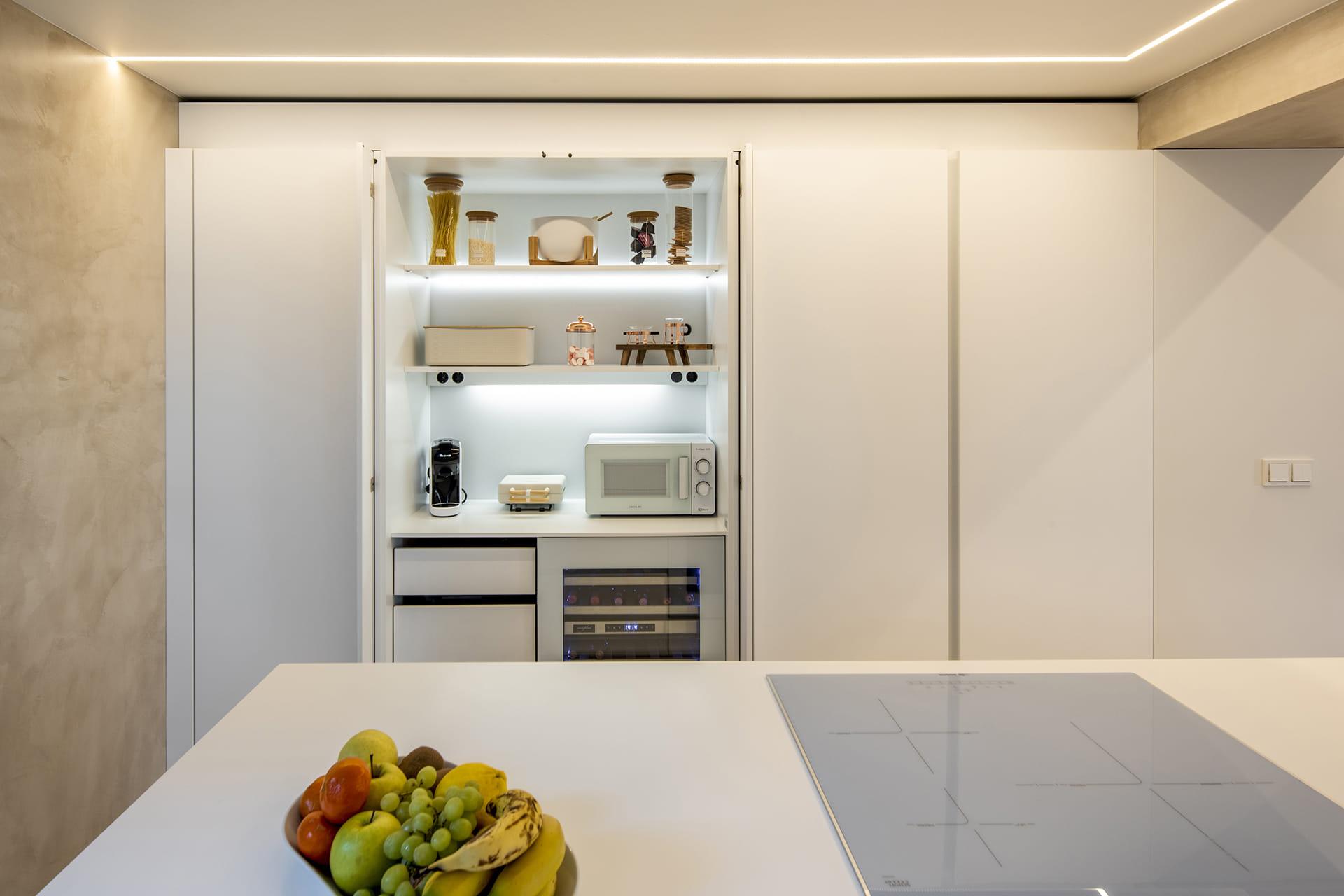 Kolomkast keukens Santos