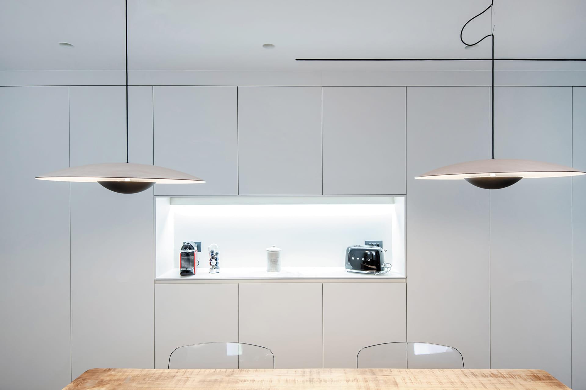 Wandkast type voorraadkast Keukens Santos
