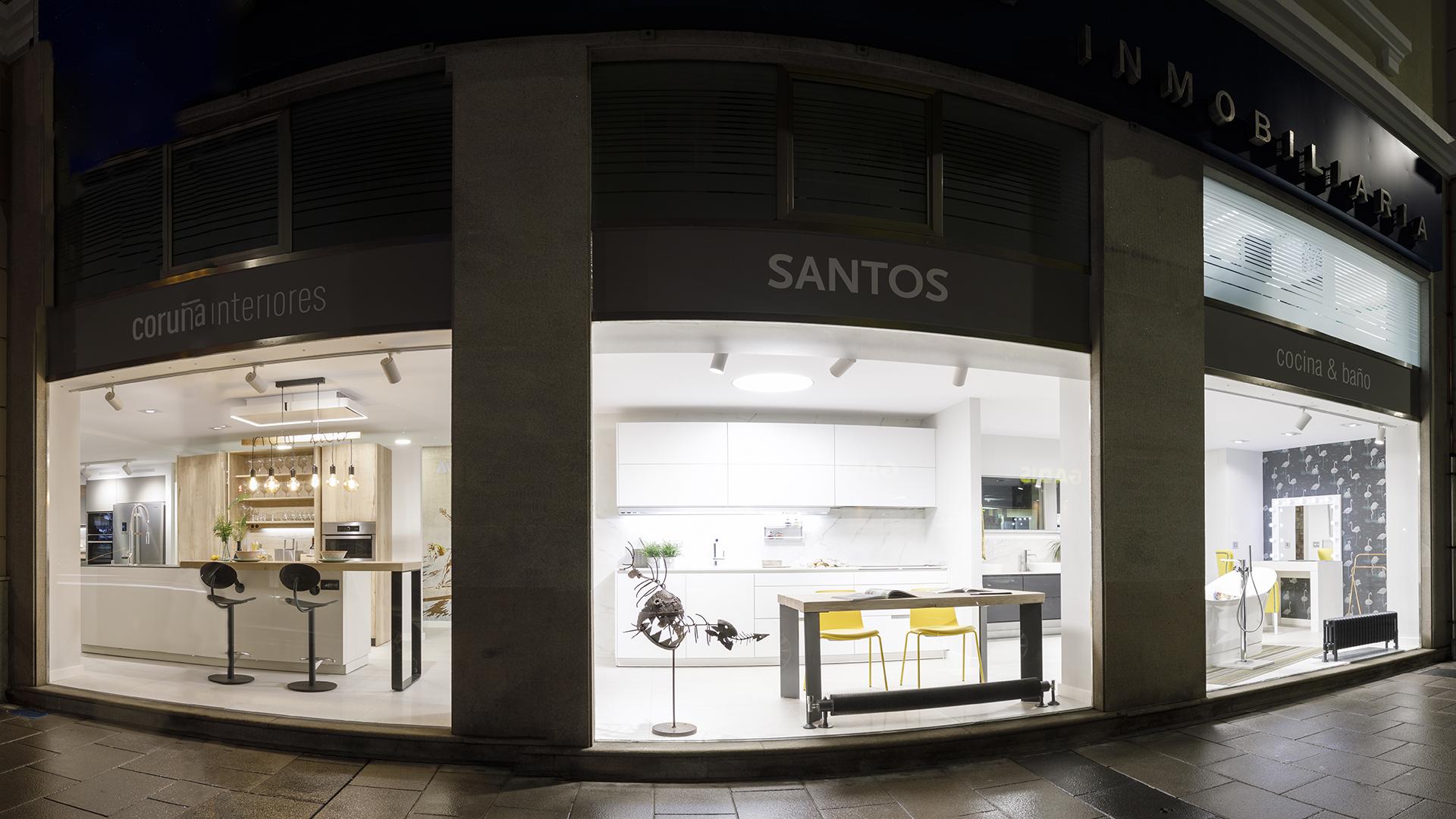 Coruña Interiores, nueva tienda exclusiva de cocinas Santos ...