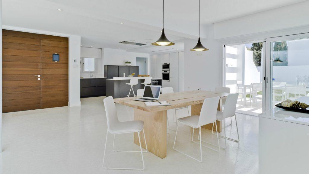 Cocinas Santos abiertas al salón: espacios que favorecen la ...